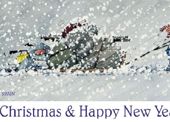 Veselé Vianoce a šťastný nový rok 2021